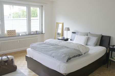 Comfy room next to SBB trainstation - Binningen - Apartament
