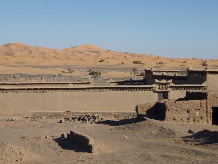 Maisons d'Hôtes  bord des dunes