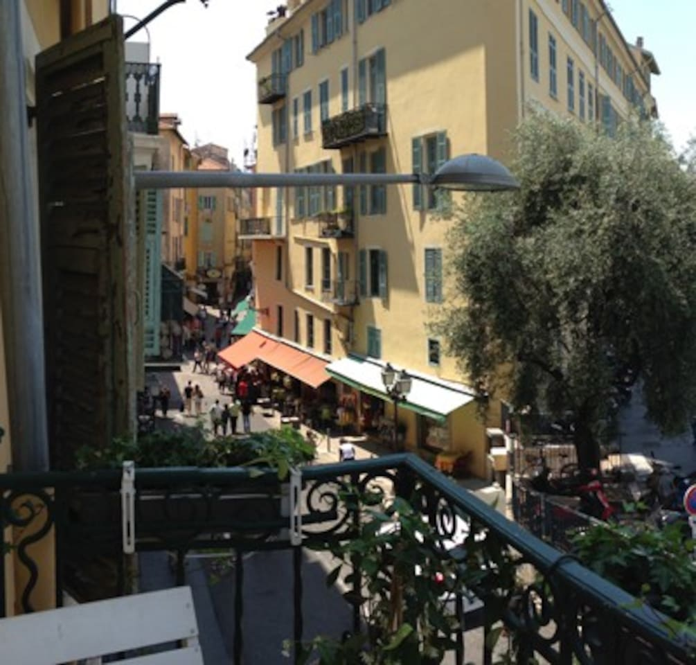 sunny studio with balcony and view apartments for rent in nice