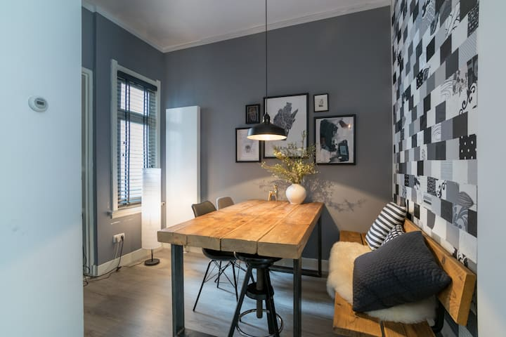 Trendy apartment in the old town of Alkmaar
