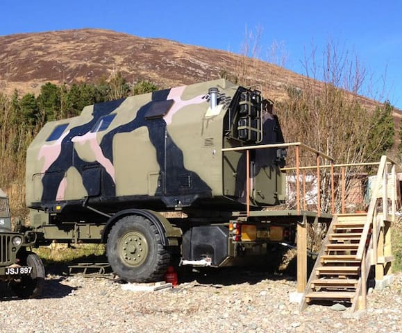 'Boris', the Military Pod! - Kylerhea