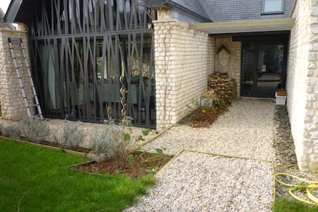 Maison d'architecte vue abbaye ! - Saint-Martin-de-Boscherville