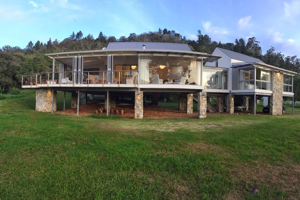 Front view from the lawn.