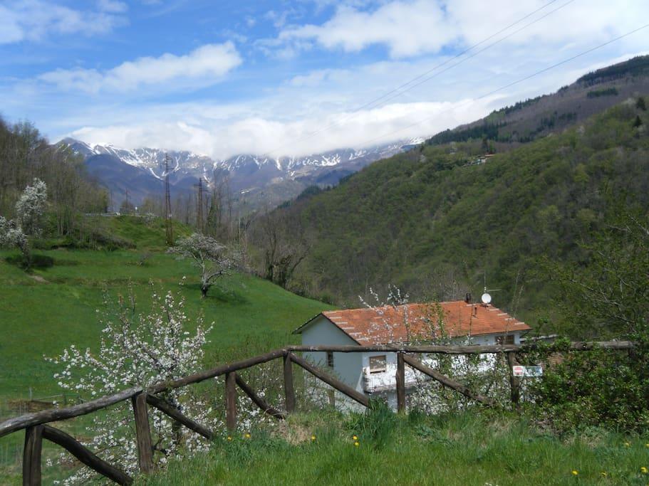 Panoramica zona villa