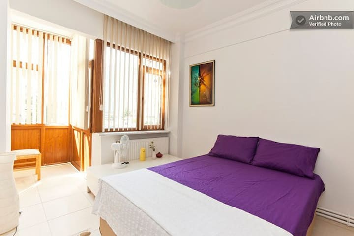 CENTRAL&SAFETY Location Bright Room - Istanbul - Apartment