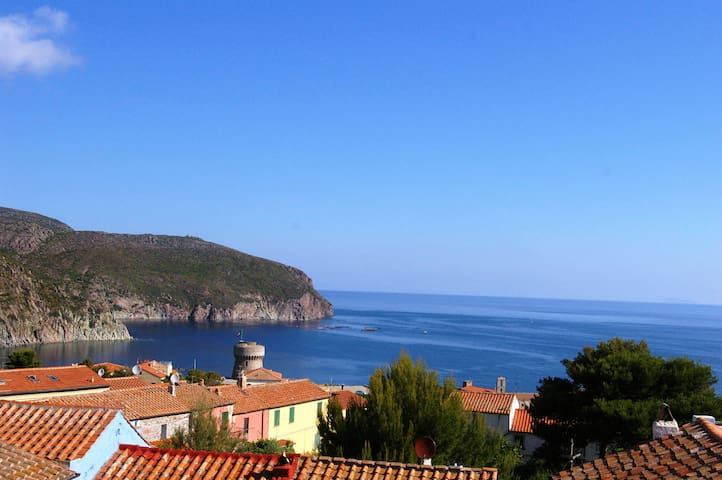 Elegant apt., Spectacular views ! - Capraia Isola - Apartment