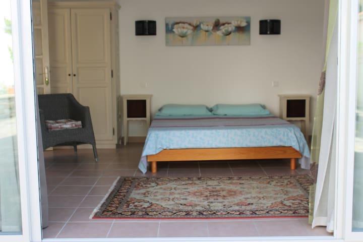 Chambre La Chapelle avec piscine - Sorbo-Ocagnano