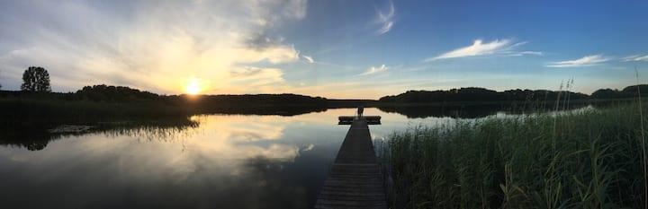 Ferien im Bauernhaus am Dranser See