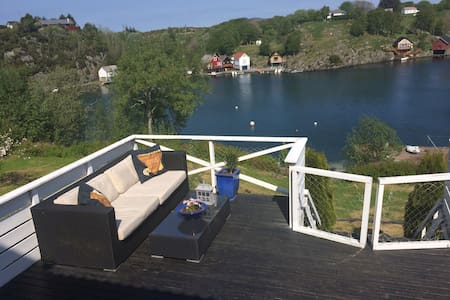 Nicely situated house by the sea - Haugesund