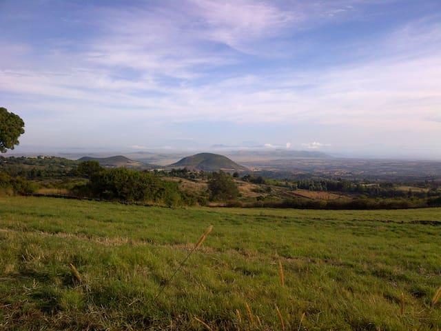 View over North Kenya