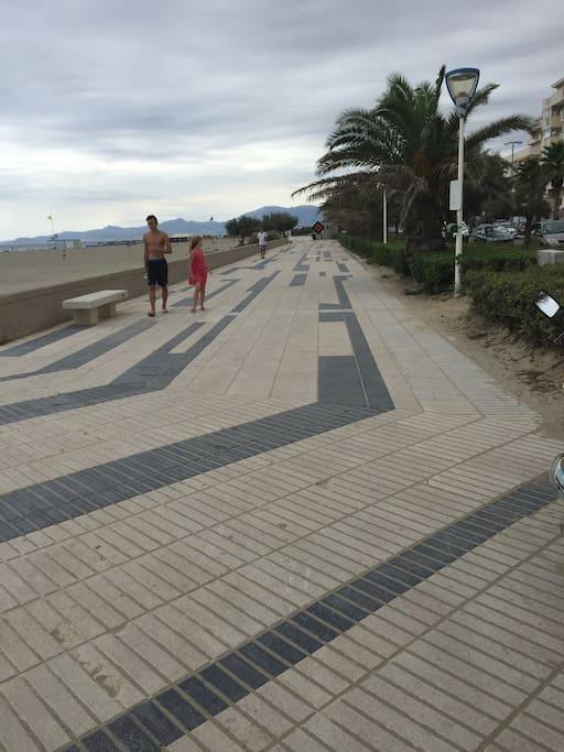 6km de footing le long de la plage