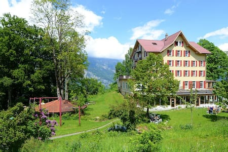 Guest House in the Alps/Double Room - Brienz