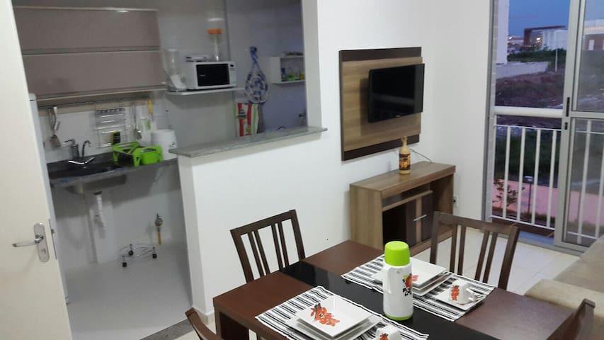 Flat apart double 308 Ville Laguna - Belém - Apartamento