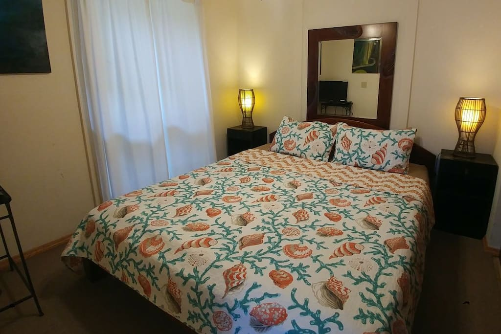 Comfy California King size bed