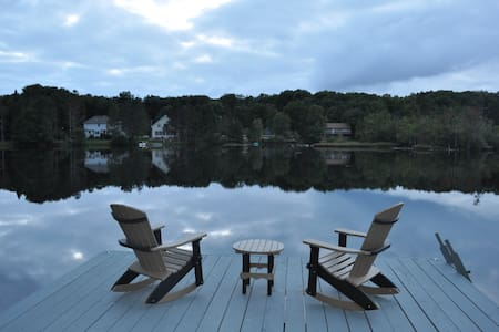 Beautiful Private Serene Lakehouse - Mount Pocono
