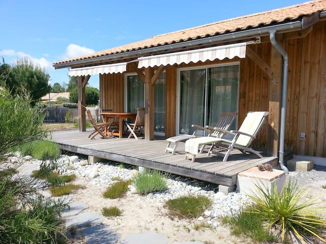 4 Personen +Baby Holzferienhaus  - Sanguinet - House