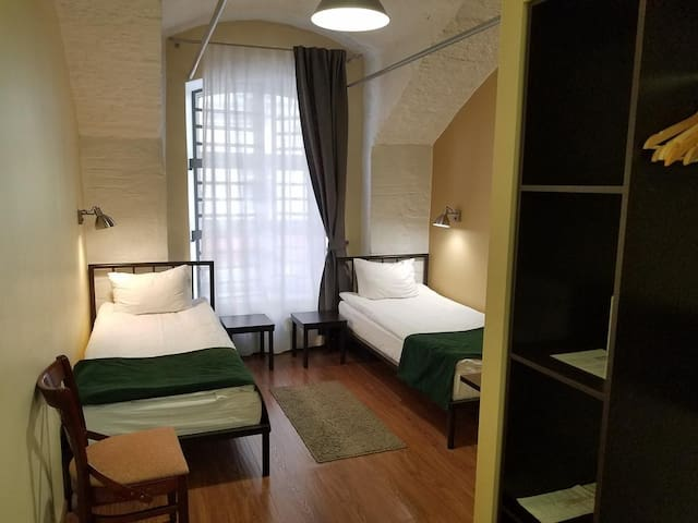 Уютная комната для двоих у Кремля