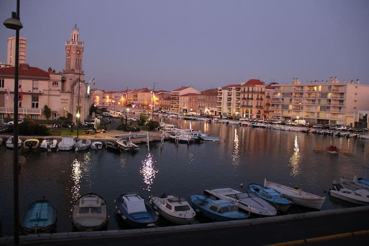 Best view  in Sète - center town