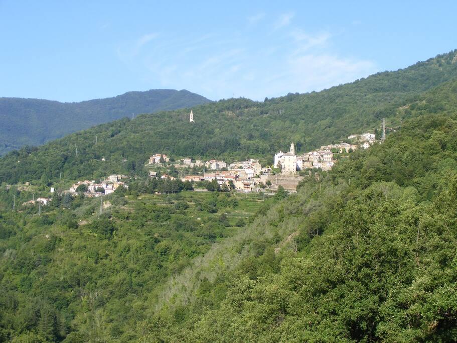 Rezzo village
