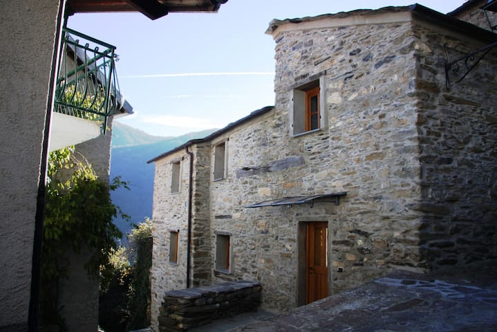 Rezzo Village house