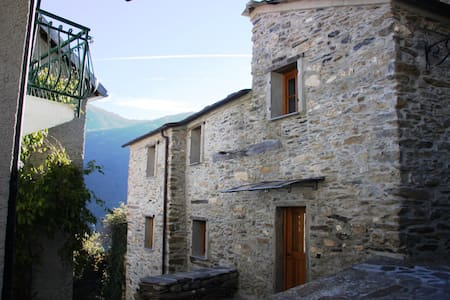 Rezzo Village house - Rezzo - Talo