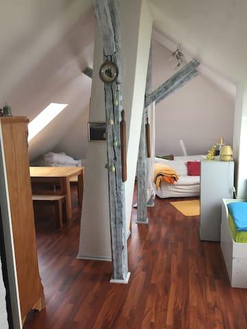 Kuschelige Dachwohnung