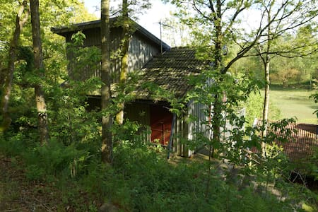 A little cottage in the forest - Sällstorp - Inap sarapan