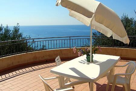 Wonderful seaview flat Palinuro - Apartemen