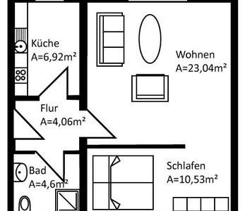 """Ferienwohnung """"Hein's Home"""" - Letschin - Apartament"""