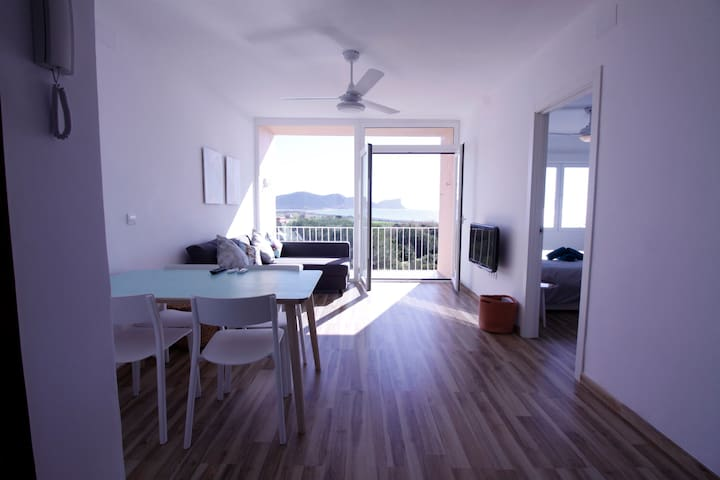 Cozy apartment with sea view - 2 rooms - Sant Josep de sa Talaia - Byt