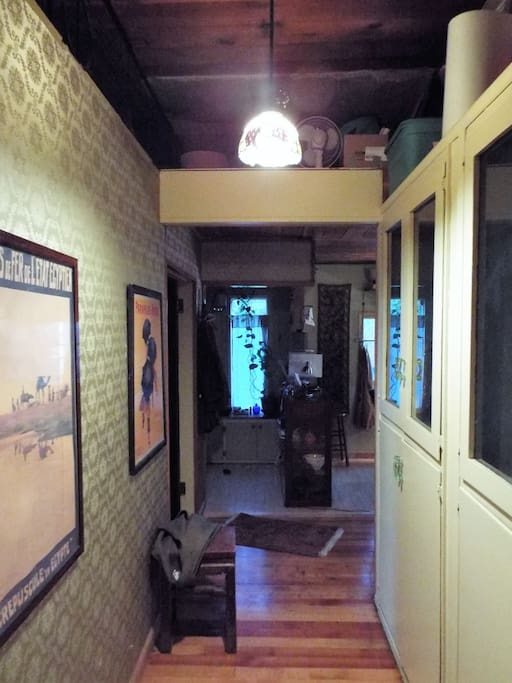 Hall - Entry way