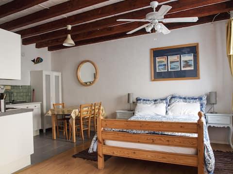 Grande apartamento estúdio ensolarado para 3