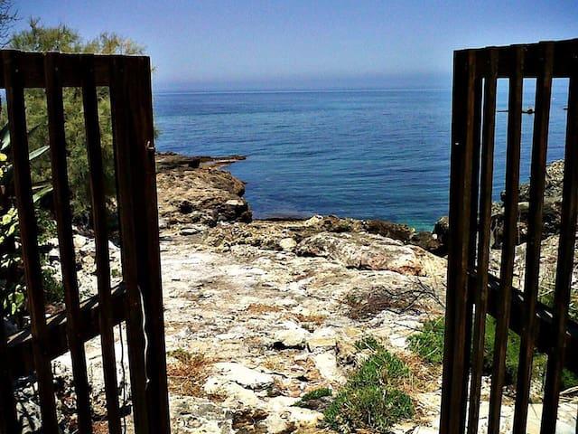 Terrace above the sea near Palermo - Carini - Leilighet