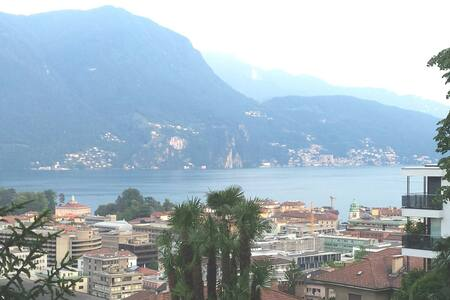 Wonderful lake view apartment - Lugano - Apartament