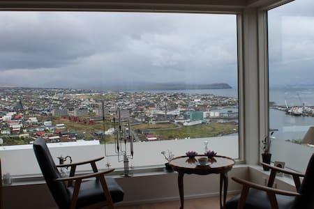Panoramaview over Torshavn. - Apartment