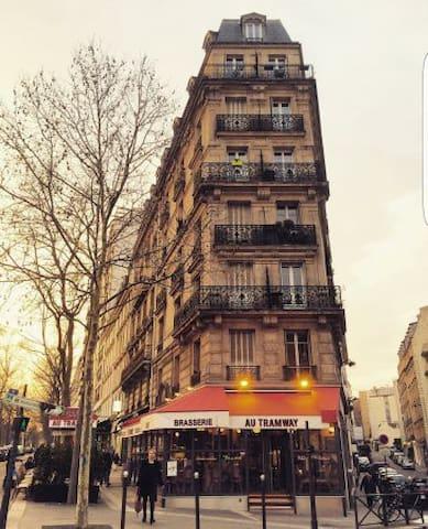 Cozy 2 rooms appartment in Paris
