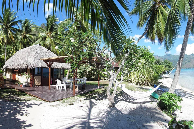Le bungalow et la plage