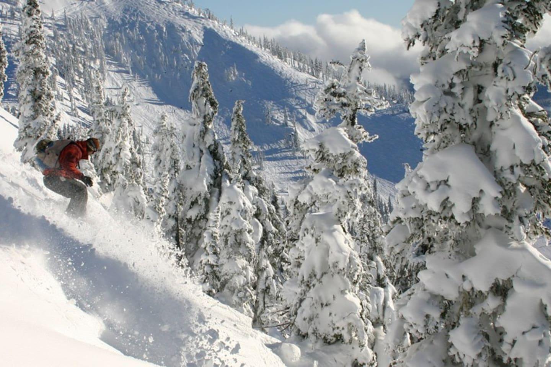 Some of the World's Freshest Powder on Mt Washington