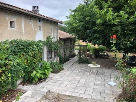 Secluded house & gite in the Charente