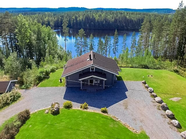 Villa Kielonkallio by the Lake Kerma East Finland