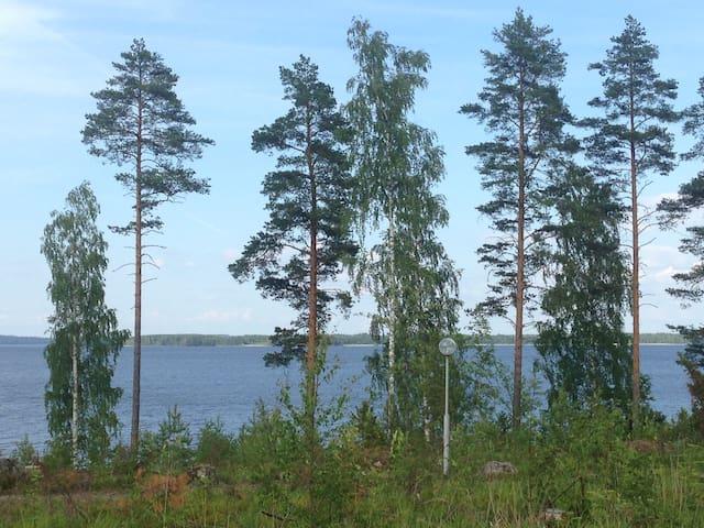 Уютный коттедж для компании на берегу озера Сайма - Taipalsaari