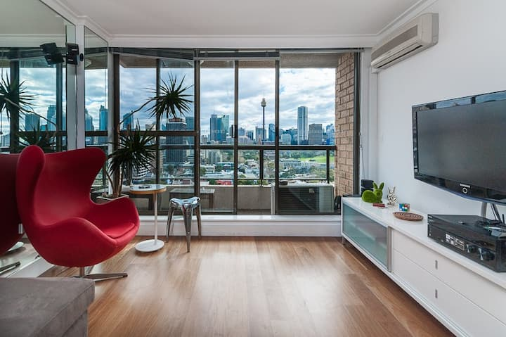 Stylish Potts Point Apt Facing - Harbour Views!