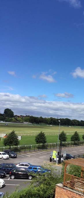 View over the racecourse
