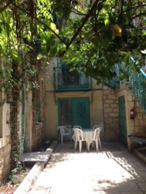 Lemon Tree Courtyard