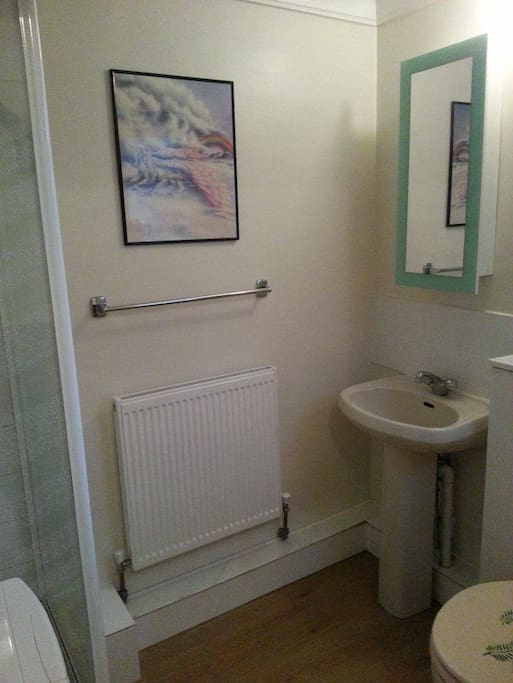 Your own ensuite bathroom to sing in