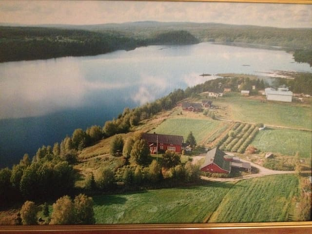 True Lappish home in countryside next to the river - Rovaniemi - Departamento