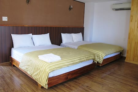 Funny House Deluxe Twin Room - tp. Nha Trang - Penzion (B&B)