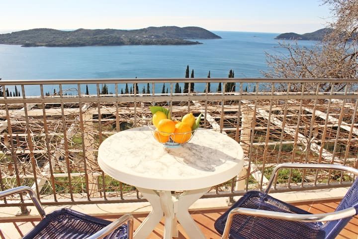 Apartments Bralovic- One bedroom apt w/ sea view - Orašac - Apartamento