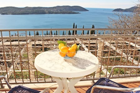 Apartments Bralovic- One bedroom apt w/ sea view - Orašac - Lejlighed