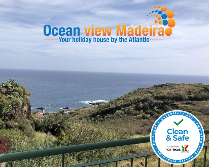 Ocean view Madeira villa
